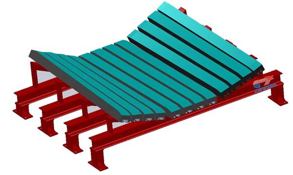 宁夏变槽形角型缓冲滑槽